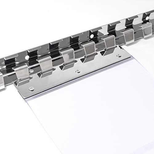 ANRO Befestigungsset für Lamellenvorhang Edelstahl 1m für 4 Lamellen a 30cm