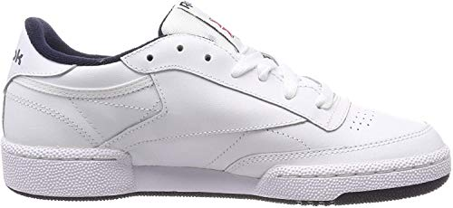 Reebok Herren Club C 85 Sneakers, Weiß (Intense White / Navy), 42 EU