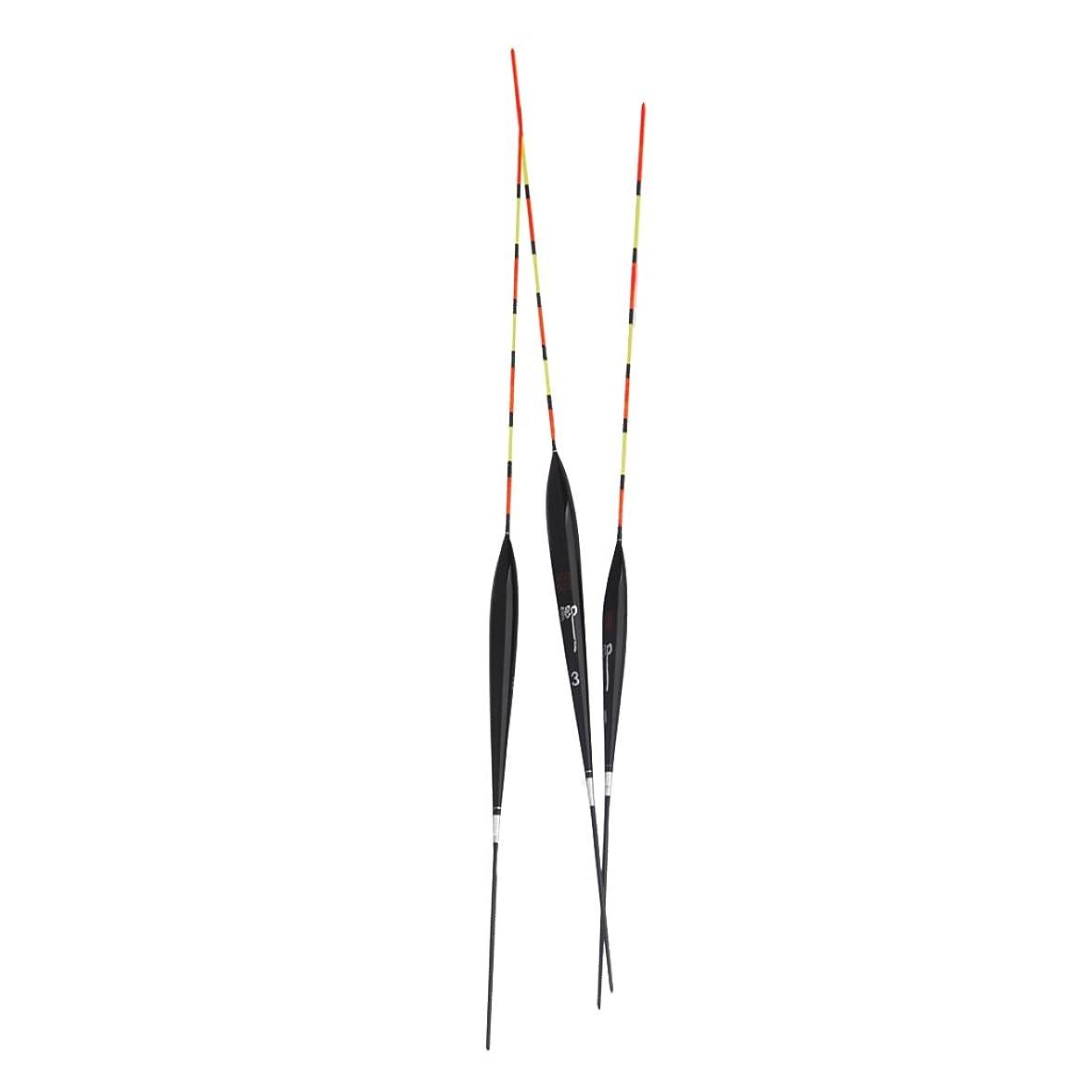 勝利した消費する美しい【ノーブランド品】鯉 パーチ 釣り用 バルサ材製 浮き フロート 3個