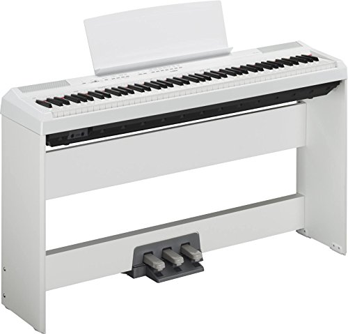YAMAHA P115 WEISS + STAND + PEDAL