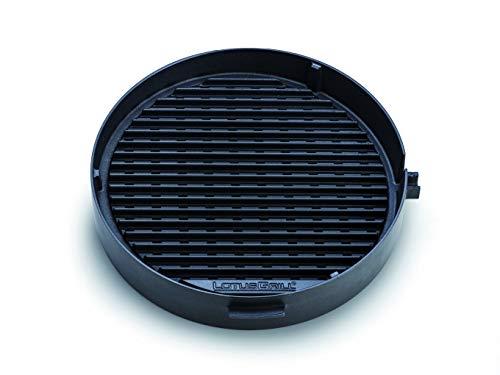 LotusGrill Grille de barbecue en fonte pour une cuisson saine – Convient pour le barbecue au charbon de bois / barbecue de table LotusGrill – Accessoires de barbecue