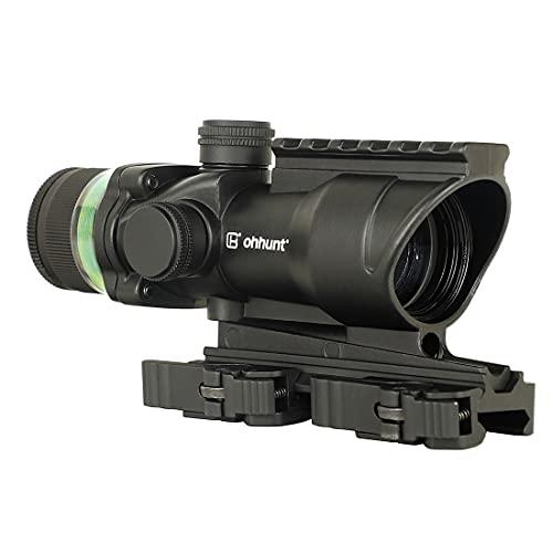 ohhunt 4x32 Rifle Scopes Fiber Optic Scope Illumination...