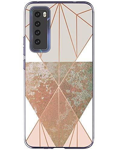 kinnter Kompatibel Mit Huawei nova 7 Pro 5G Hülle Silikon Handyhülle TPU Soft Bumper Stoßfest Anti-Scratch Schutzhülle Ultra Dünn Case Für Huawei nova 7 Pro 5G Tasche Cover Männer Frau Mädchen