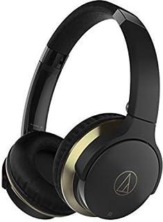 Audio-Technica ATH-AR3BTBK SonicFuel - Auriculares inalámbricos Bluetooth con micrófono y control, color negro (reacondici...