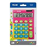 Blíster calculadora Mix Rosa 10 dígitos