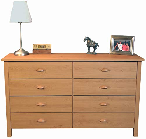 8 Drawer Nouvelle Dresser Oak