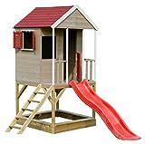 Wendi Toys M7 Summer Adventure House | Spielhaus & Plattform & Rutsche