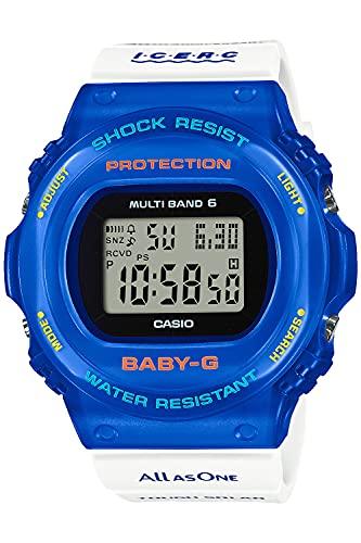 [カシオ] 腕時計 ベビージー 電波ソーラー Love The Sea And The Earth アイサーチ・ジャパン コラボレーション モデル BGD-5700UK-2JR レディース ホワイト