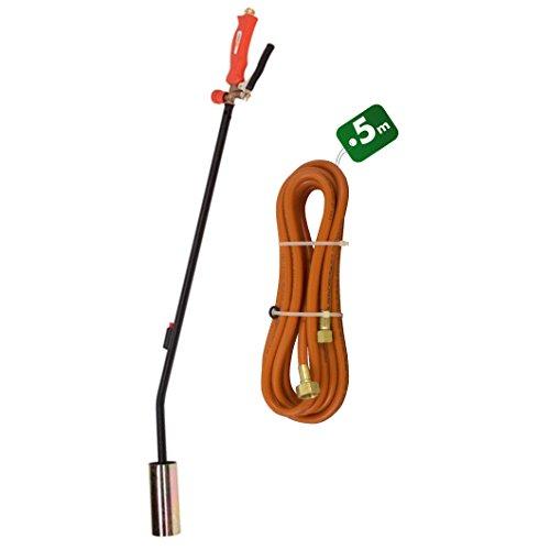 Désherbeur thermique 1 brûleur avec allumage piézo + 5 m de tuyau