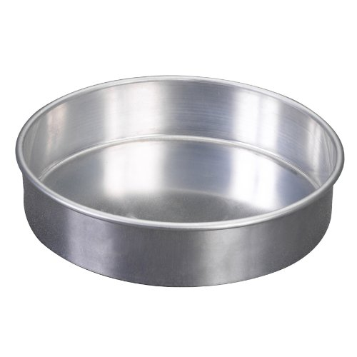 Nordic Ware Natural Aluminum Commercial Round Layer Cake Pan Baking Essentials