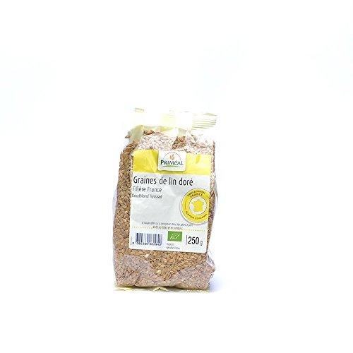 Primeal Graine de Lin Dore France 250 g - Bio