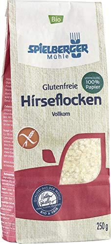 Spielberger Bio Glutenfreie Hirseflocken, kbA (6 x 250 gr)
