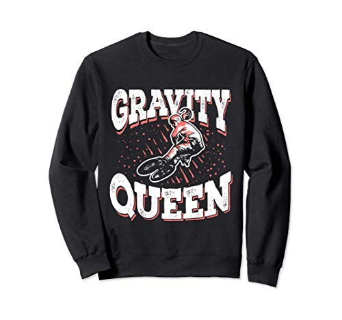 Ciclista De BMX Bicicleta BMX Stunt Gravity Queen Sudadera