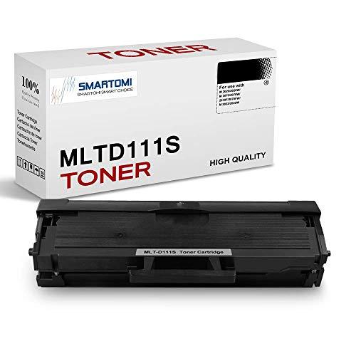 SMARTOMI 1er-Pack MLT-D111S Kompatible to Schwarze Tonerkartusche Samsung MLTD111S zur Verwendung mit Druckern der Serie Samsung Xpress SL- M2026 M2020 M2070 M2022 M2071