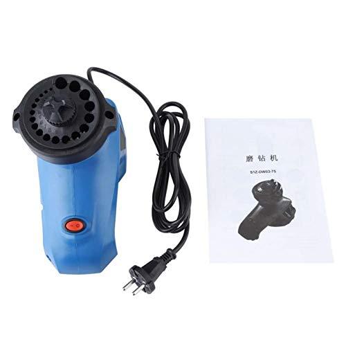 Afilador de brocas, afilador de brocas eléctrico, afilador de brocas giratorias, amoladora de taladro, se aplica al taladro giratorio estándar de 130 °