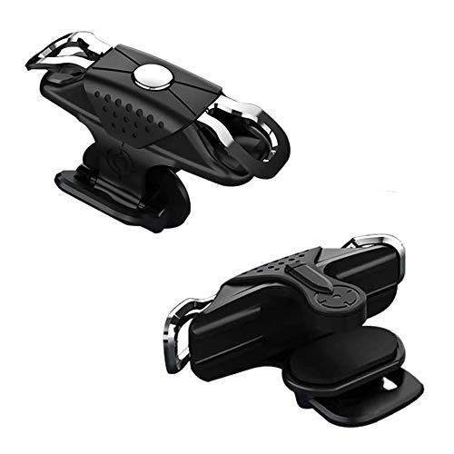 XLKJ 1 Paar Handy Mobile Game Controller, Empfindliche Controller Joysticks,Tragbar Gaming Gamepad für PUBG,Schwarz