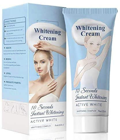 2Pack Whitening Cream Bleaching Cream, Body Cream for Armpit, Knees, Elbows, Sensitive and Private Areas