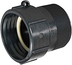 IBC Tote Adapter: 2in Buttress to 2in NPT Pipe Thread - Easily Connect Your IBC Tote to Standard Pipe Thread - Buttress Adapter - IBC Tote Valve - Food Grade Tote - IBC Tote Fittings - Food Grade Drum