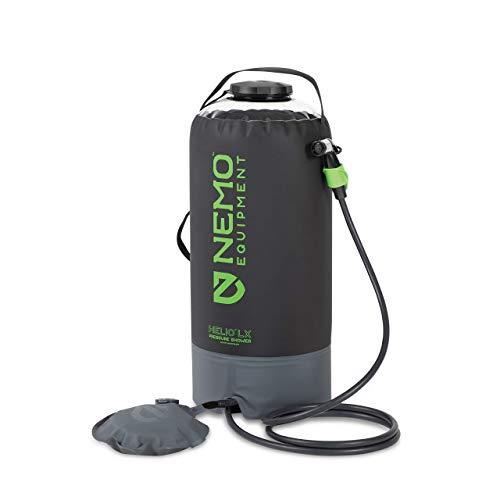 Nemo Helio LX Pressure Shower (Black/Apple Green) 2020