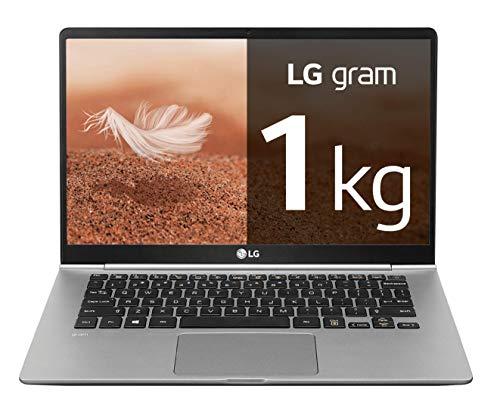 "LG gram 14Z990-V - Ordenador portátil ultrafino - 35.5 cm (14"") - FHD IPS (1 kg, autonomía 23.5 h, Intel Core i7-8565U, 8 GB RAM, 256 GB SSD, Windows 10 Home) Color Plata - Teclado QWERTY Español"