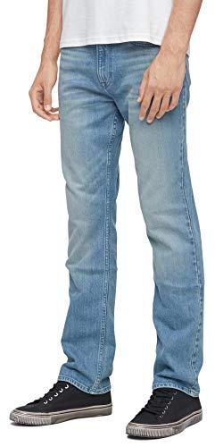 Calvin Klein Men's Straight Fit Jeans, Allie Indigo, 32W x 32L