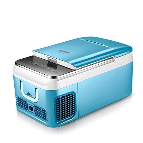 YSA 18L / 26L Refrigerador del Coche Compresor Mini congelador portátil 12V / 24V Refrigerador móvil automático Congelador de Camping Caja fría.