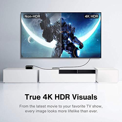 HDMI 2.0 Kabel 2 Meter, iVANKY 4K 18Gbps HDMI Kabel, HDMI Kabel unterstützt 4K@60Hz, HDCP 2.2/1.4, 1080p, Ethernet, Dolby Audio für PS4/PS3, PC