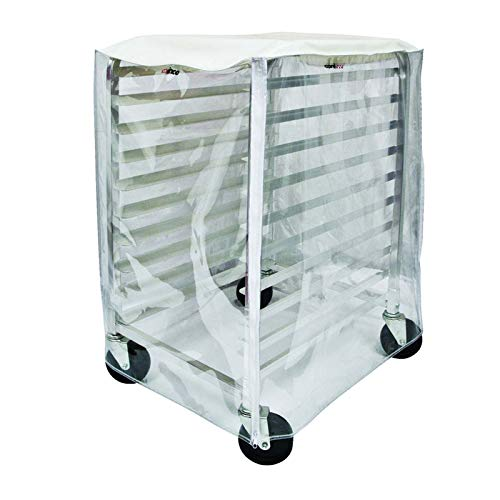 Winco Cover for 10-Tier Sheet Pan Rack ALRK-10 and ALRK-10BK,Clear,Medium