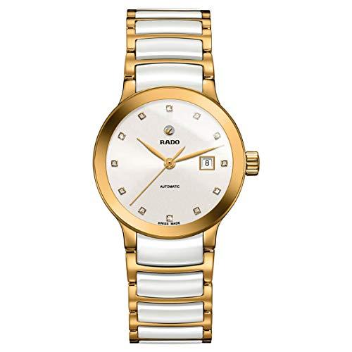 Rado Centrix R30080752 - Reloj automático con esfera de diamante blanco