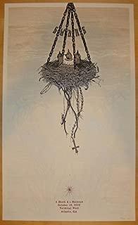 2013 Swans - Atlanta Silkscreen Concert Poster by Neal Williams