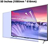 HSBAIS 50 Pollici Anti Luce Blu Protettori Schermo per TV, Desktop Widescreen Monitor Anti...
