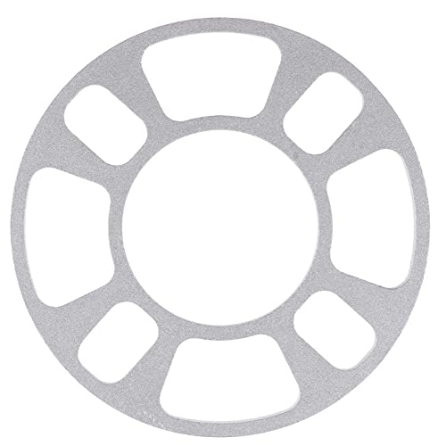 YYLVEV Junta de Rueda de aleación de Aluminio de automóviles 4 Orificio de 8 mm de Grosor de Grosor del automóvil Modelado de la Rueda de la Rueda de Las Piezas de automóvil (Color : 1)