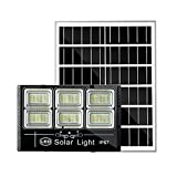 Foco Solar Led Exterior JardíN Impermeable 1000W 1200W, Sistema De Carga Pwmluces Solares Jardin, BateríA De Litio De Gran Capacidad Farolas Solares Exterior Potente[Energy Class A +++](Size:1000W)