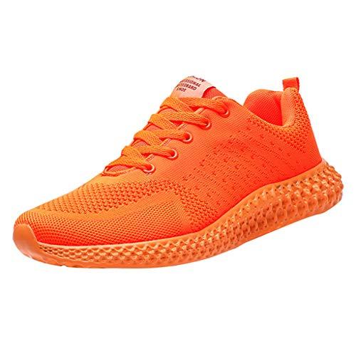 SSUPLYMY Mesh Slip On Sneakers Walking Outdoor Gym Bequem Leichte Atmungsaktiv Freizeitschuhe Atmungsaktive Laufschuhe Outdoor Schuhe Leichte Rutschfeste Kletterschuhe Laufschuhe