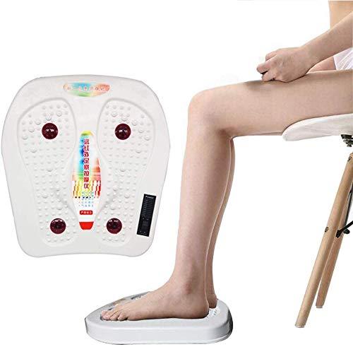 DDDXF Fussmassagegerät,Therapie Fußmassager,Gegen Müde Füße Und Beine,Schmerzbehandlung,Fußreflexzonen Reizstrom Massagegerät Mit Infrarot Fußmassagegerät Für Zuhause Und Büro Entspannung