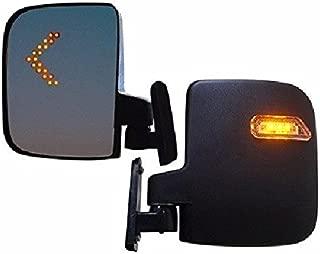 Rhox Golf Cart LED Side Mirror Set