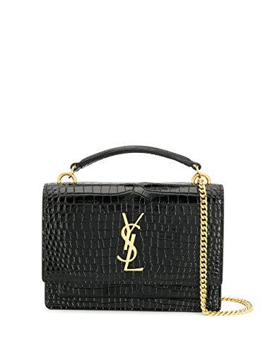 Saint Laurent Luxury Fashion Damen 533026DND1J1000 Schwarz Leder Handtaschen | Herbst Winter 20