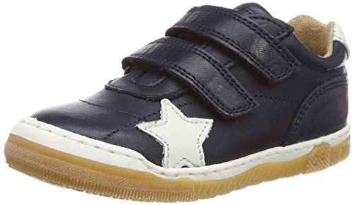Bisgaard Jungen Unisex Kinder 40305.119 Sneaker, Blau (Navy 601), 24 EU