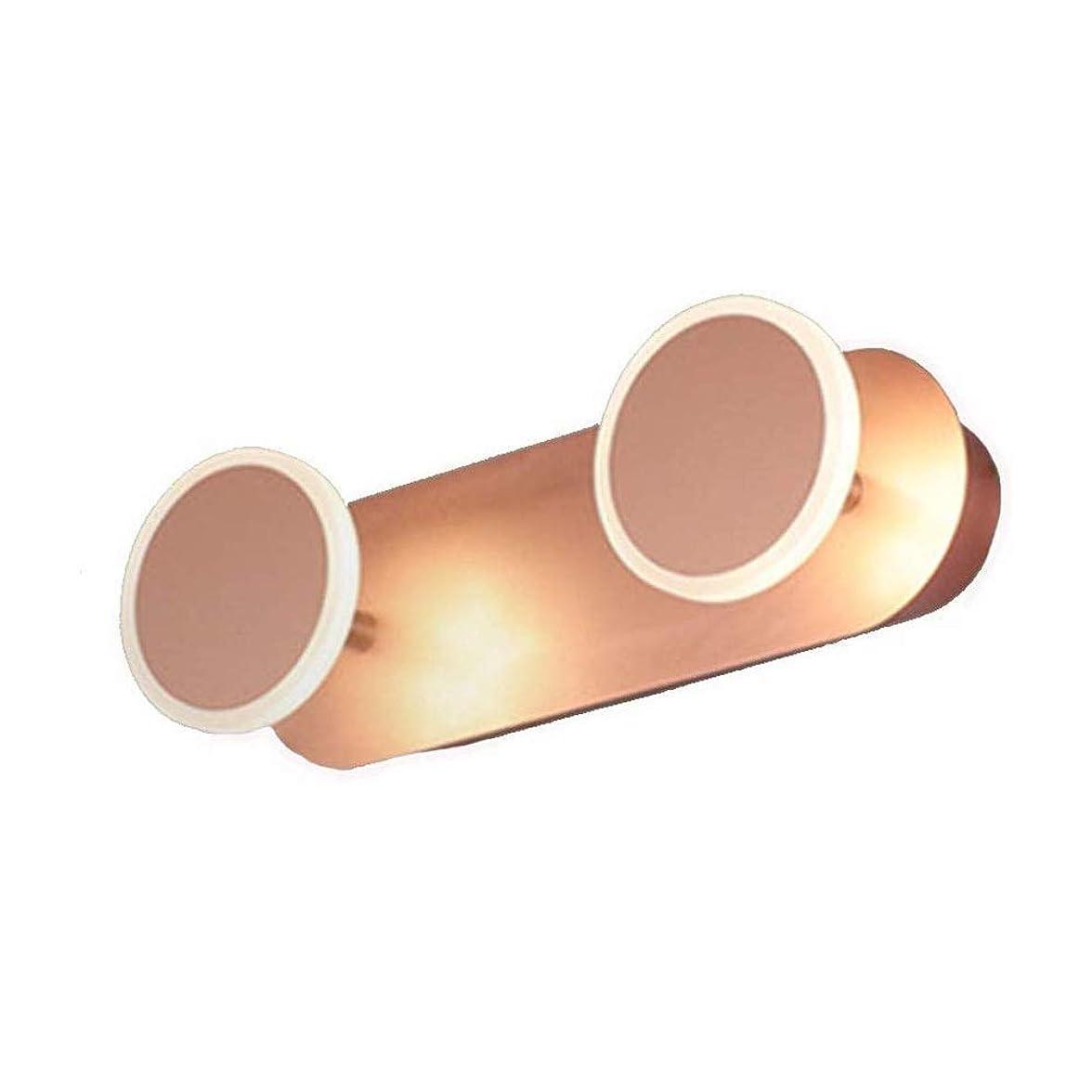 投資する顔料アプローチHIZLJJ 主導の浴室ミラーライトピクチャーメイクアップ照明浴室の壁ランプバスミラーライト防水アンチフォグLEDウォールランプ北欧アクリルローズゴールドバニティミラーヘッドライトのベッドルームの照明器具