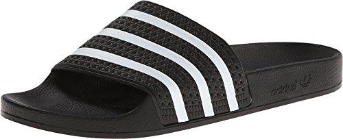 adidas Originals Herren Adilette Slides, schwarz/weiß, 47 EU