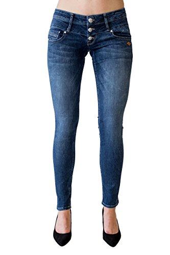 Lost in Paradise Celina Superslim Atlantik Blue Jeans Damen Denim (29/32)