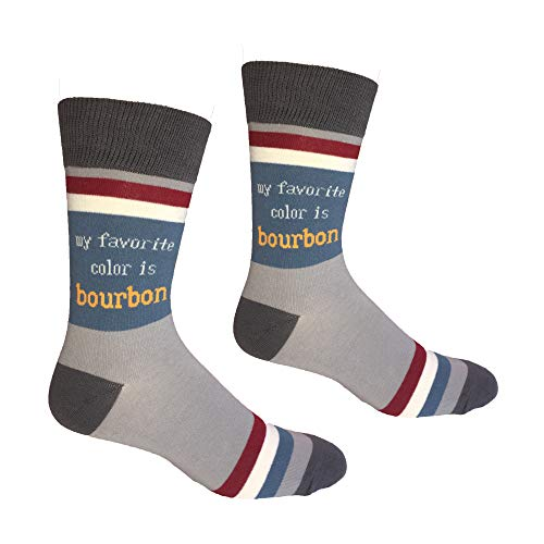 My Favorite Color is Bourbon Men's Socks