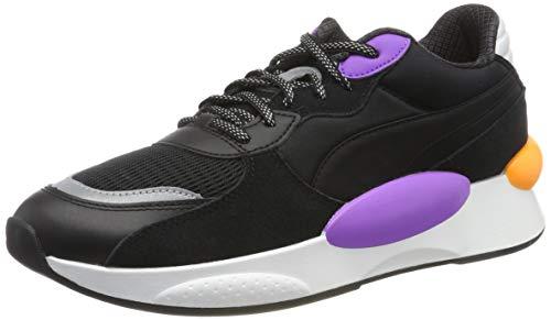 PUMA RS 9.8 Gravity, Zapatillas Unisex Adulto, Black-Purple Glimmer, 46 EU