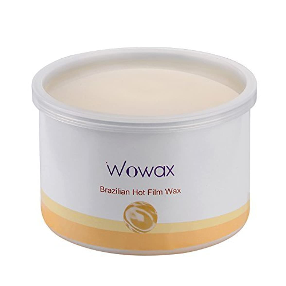 ウッズ変数効果WOWAX Brazilian Wax Stripless Hard Wax Hair Removal Wax for Whole Body and Sensitive Skin 14 oz [並行輸入品]
