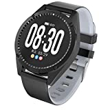LQIAN Mode Fitness Smartwatch, IP67 Wasserdicht mit GPS Schrittzähler Uhr Herzfrequenz mit Herzfrequenzmesser Blutsauerstoff Kinder Damen Herren Geschenk, Schrittzähler,...