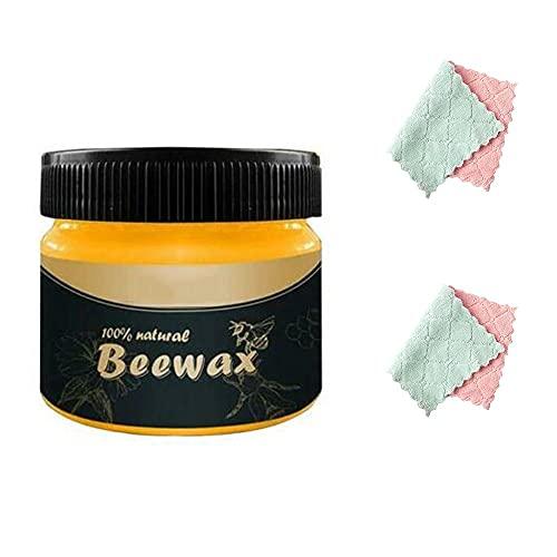 Wood Seasoning Beewax Polish, Cera para Muebles de Madera, Furniture Care Beeswax...