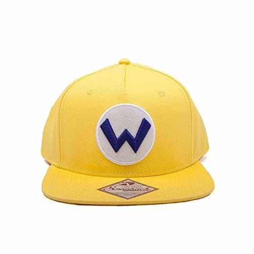 SUPER MARIO Nintendo - Casquette Snapback - Wario Logo