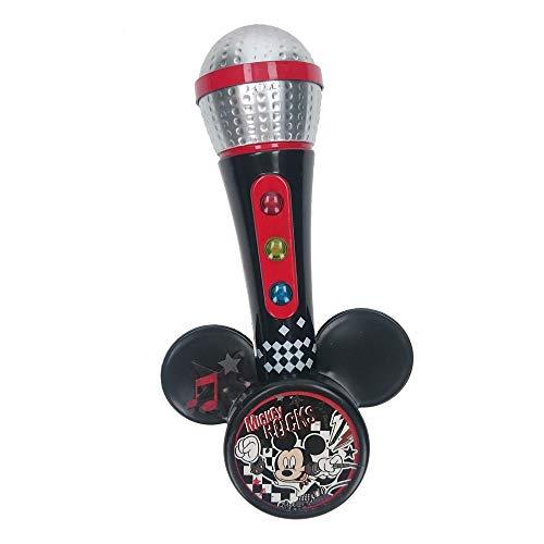 Mickey Mouse - Micrófono de Mano con Amplificador y ritmos (Claudio Reig 5369.0)