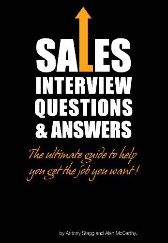 Sales Interview Questions & Answers