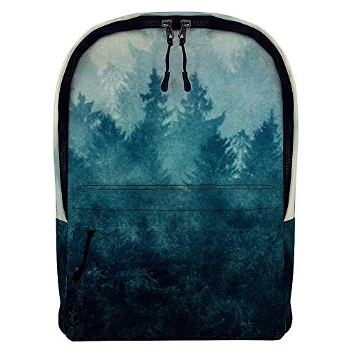 Retro Classic Style Flower Backpack, Fashion Vintage Casual Floral Daypacks Solid Shoulder School Bag for Women and Girl